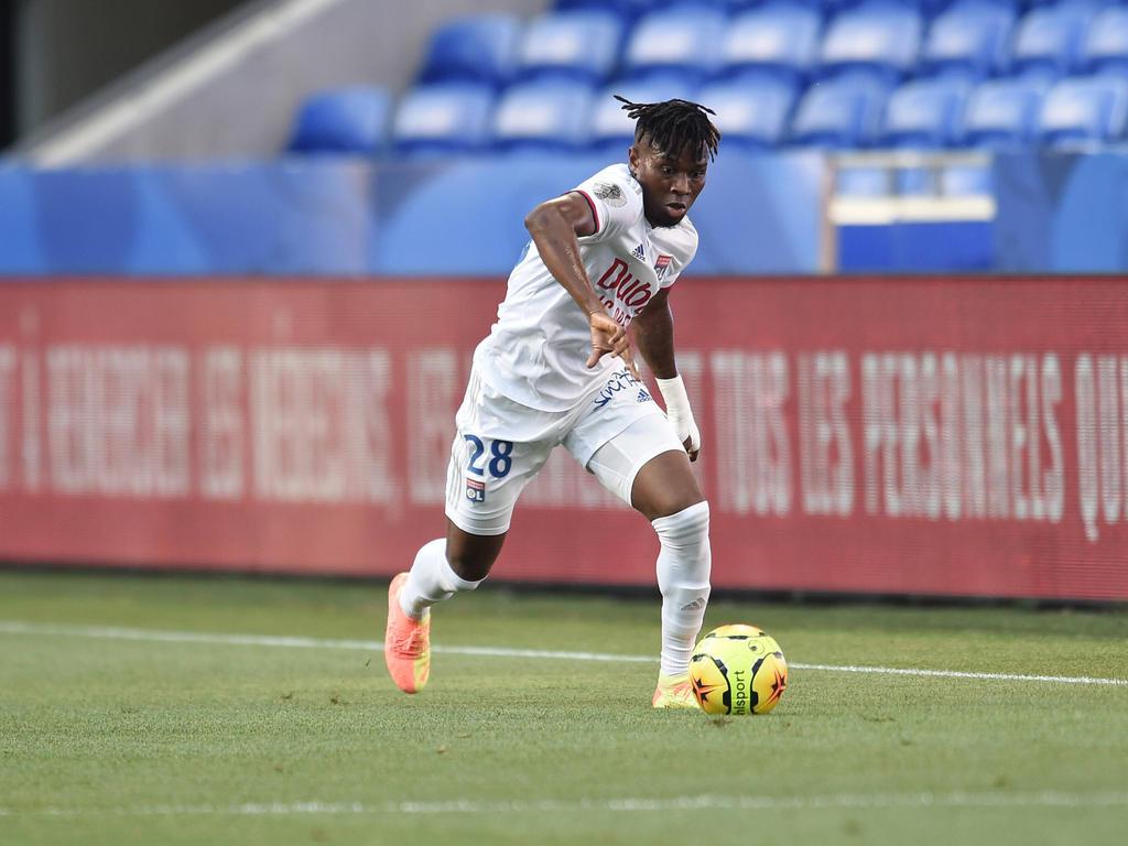 Koné prueba suerte en el campeonato español.