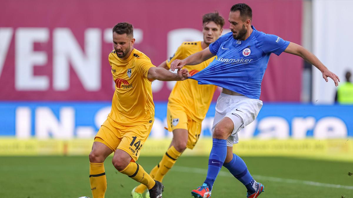 Hansa Rostock und der KFC Uerdingen trennten sich 0:0