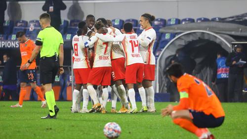 RB Leipzig wahrte die Chance auf die K.o.-Runde