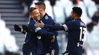 La Juventus sigue en su empeño de colocarse líder.