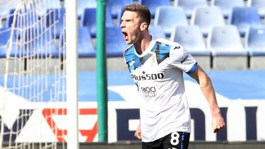 Robin Gosens jubelte gegen Sampdoria