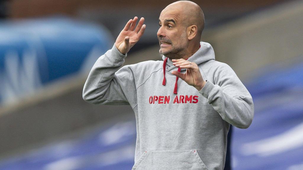 Pep Guardiola steht mit Manchester City im Finale der Champions League