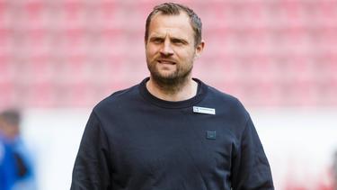 Bo Svensson vom FSV Mainz 05 möchte nichts von einem Spitzenspiel wissen