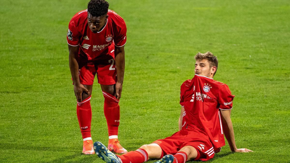 Die Bayern unterlagen klar gegen Saarbrücken