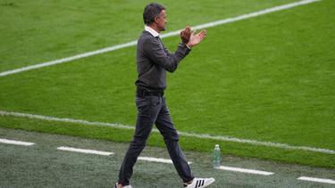 Luis Enrique scheiterte mit Spanien an Italien
