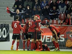 Mirandés gelingt gegen Málaga die große Überraschung