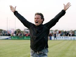 Oliver Zapel möchte bald auch bei der SG Sonnenhof Großaspach jubeln