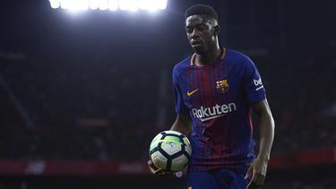 Ob Dembélé in Barcelona bleibt, ist noch nicht geklärt