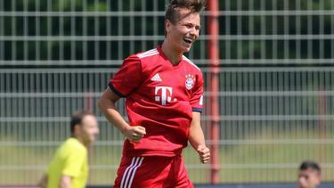Alex Timossi Andersson traf doppelt (Bildquelle: Twitter: FC Bayern Campus)