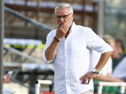 Admira-Trainer Ernst Baumeister bittet um Geduld und hofft auf Tore