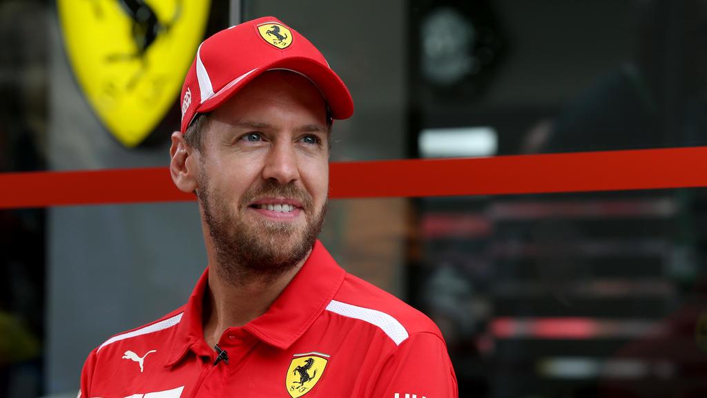 Sebastian Vettel hatte mit Problemen der anderen Art zu kämpfen