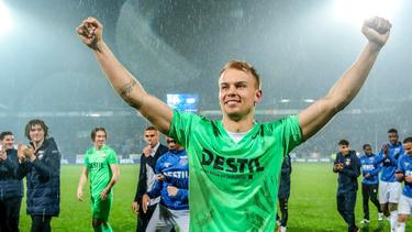 Timon Wellenreuther avancierte zum Matchwinner für Willem II (Bildquelle: Twitter Willem II)