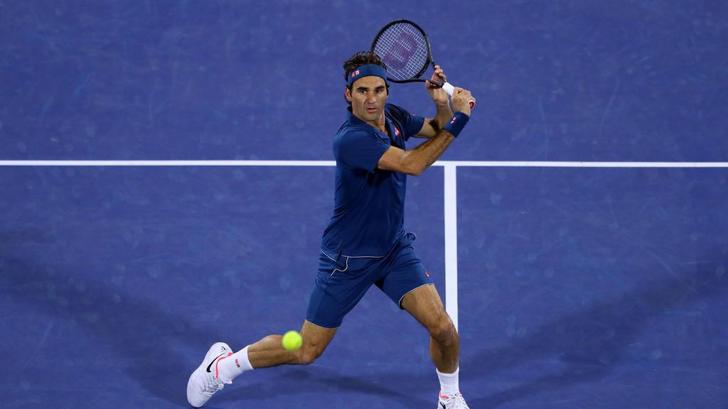 Roger Federer gab sich keine Blöße