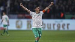 Max Kruse trifft mit Werder Bremen am 28. Spieltag auf Ex-Klub Gladbach
