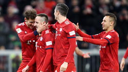 Franck Ribéry, Robert Lewandowski und Rafinha sollen die Bayern-Spieler für die letzten Spiele eingeschworen haben