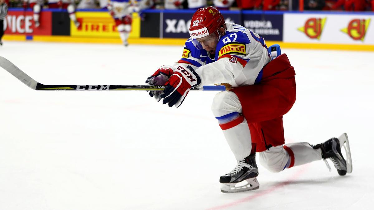 Yevgeni Kuznetsov und die Russen sind der große WM-Favorit