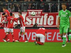Der FC Bayern feierte einen ungefährdeten 4:1-Sieg gegen PSV Eindhoven