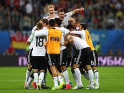 Los alemanes lograron por primera vez gana la Copa Confederaciones. (Foto: Getty)