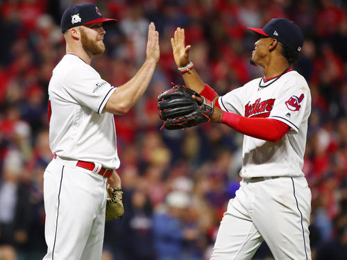 Die Cleveland Indians siegten gegen New York