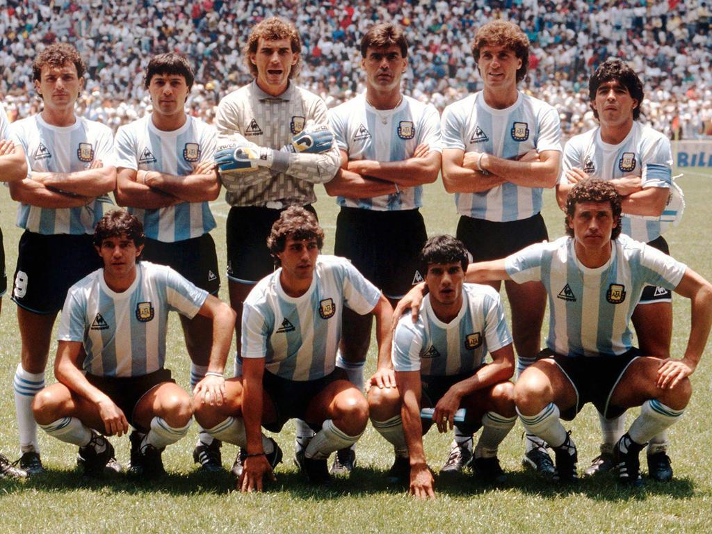 Mitglieder der 86er-Mannschaft Argentiniens wollen den WM-Fluch brechen
