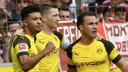 Die BVB-Stars tragen wohl langfristig Puma