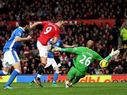 Beim 5:0-Sieg gegen Wigan