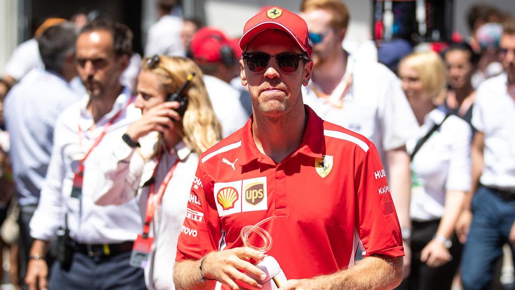 Läuft die Zeit von Sebastian Vettel bei Ferrari ab?