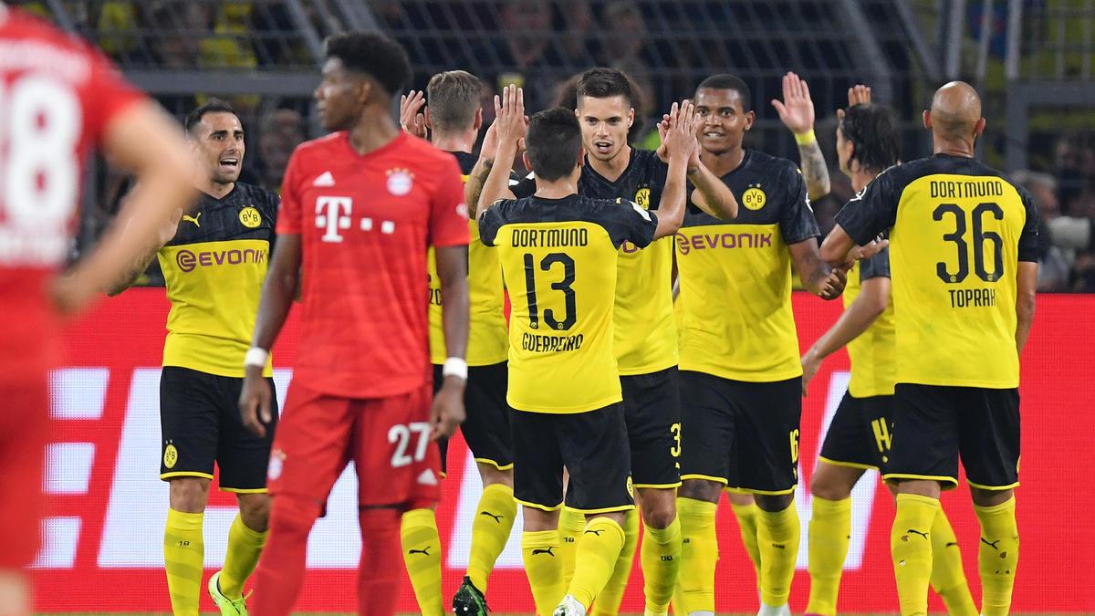 Der BVB siegt gegen den FC Bayern und sichert sich den Supercup