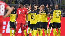 El Dortmund ya ganó al Bayern en la Supercopa.