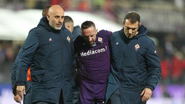 Franck Ribéry erlitt eine Knöchelverletzung