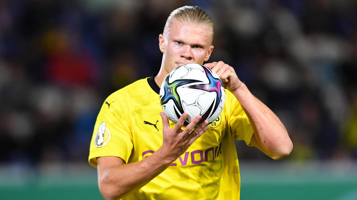BVB-Angreifer Erling Haaland wird bei europäischen Topklubs gehandelt