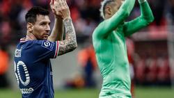 Lionel Messi bestritt sein Debüt für PSG