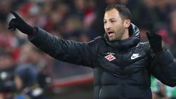 Steht mit Spartak im Halbfinale des Pokals: Domenico Tedesco