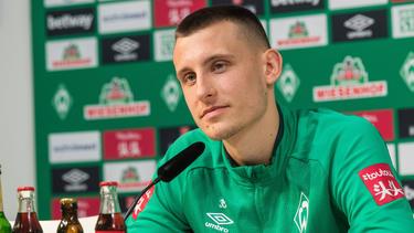 Mit Werder Bremen tief im Abstiegskampf: Maximilian Eggestein