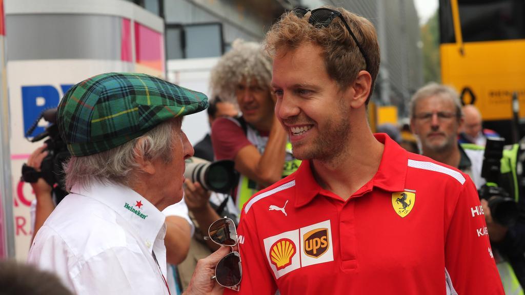 Formel 1: Jackie Stewart spricht über die Zukunft von Vettel