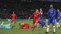 Thomas Müller und der FC Bayern gewannen das Achtelfinal-Hinspiel gegen Chelsea mit 3:0