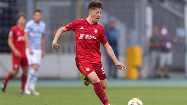 Angelo Stiller hat sich bei Bayern II im Mittelfeld etabliert