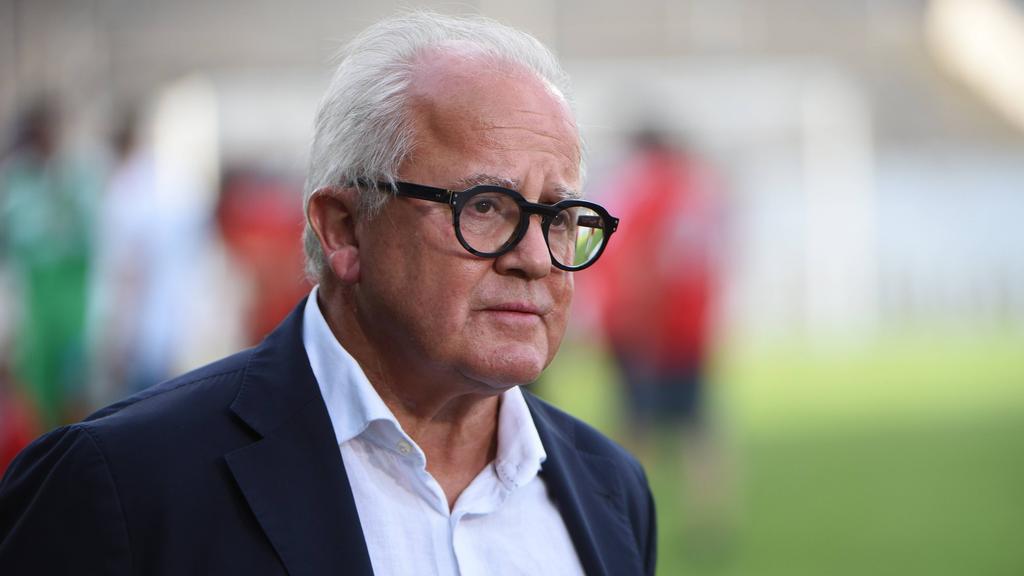 DFB-Boss Fritz Keller hat bewegte Monate hinter sich