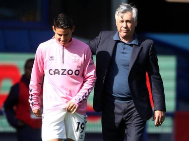 James y Ancelotti han vuelto a unir sus caminos.