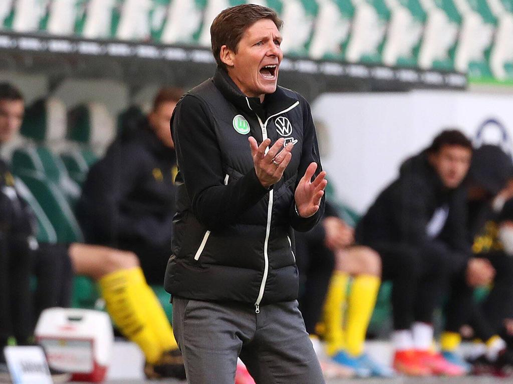 Oliver Glasner musste sich erneut gegen Dortmund geschlagen geben