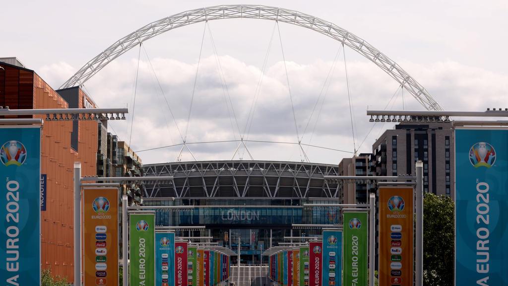 Das Finale soll eigentlich im Wembley-Stadion stattfinden