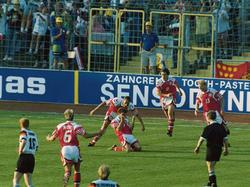 EM-Finale 1992: John 'Faxe' Jensen bejubelt seinen Treffer