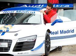Motorsportfan Álvaro Arbeloa