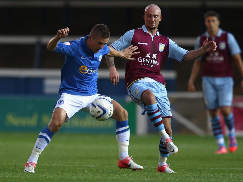 Stephen Ireland (r.) spielte seit Frühjahr 2011 für Aston Villa