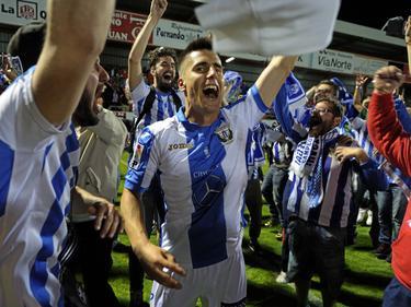 El Leganés completó la hazaña ante el Mirandés y jugará en la Liga BBVA. (Foto: Imago)