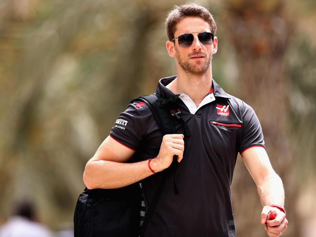 Kann endlich wieder lachen: Romain Grosjean