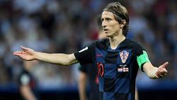 Luka Modric will den WM-Sieg