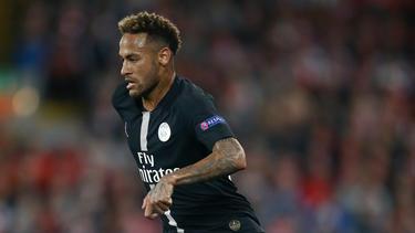 Neymar anotó un doblete en Niza. (Foto: Getty)