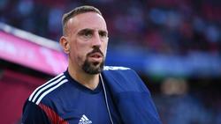 Franck Ribéry saß auch in Wolfsburg nur auf der Bank