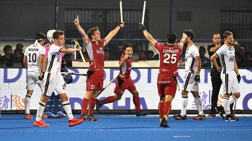 Deutschland unterlag Belgien bei der Feldhockey-WM
